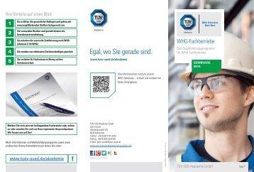 WHG-Fachbetriebe - Termine 2014 [PDF] - TÜV Süd