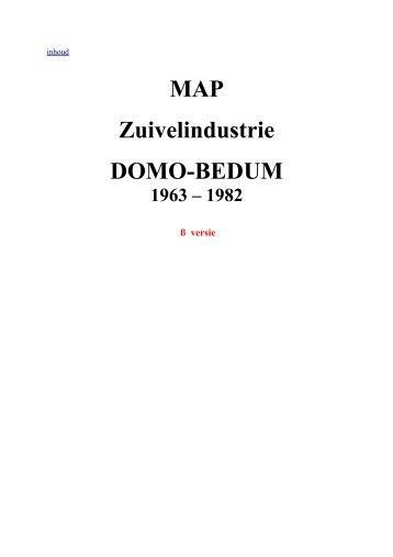 Zuivelindustrie Domo-Bedum 1963-1982 - Zuivelhistorie Nederland