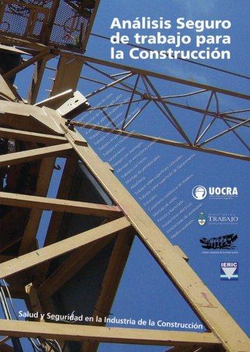 Análisis seguro de trabajo para la construcción - OIT/Cinterfor