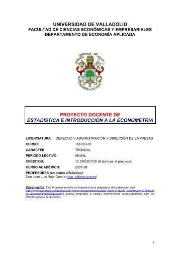 DADE - Universidad de Valladolid