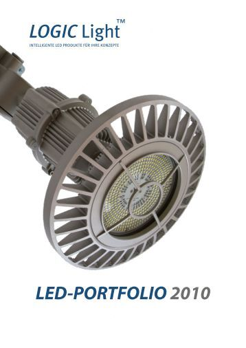 LED-PORTFOLIO 2010 LOGIC Light - LOGIC Glas