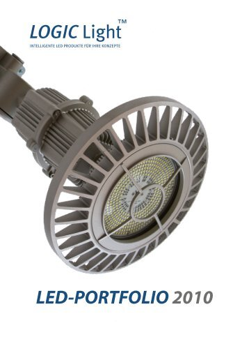 LED-PORTFOLIO 2010 LOGIC Light - LOGIC Glas