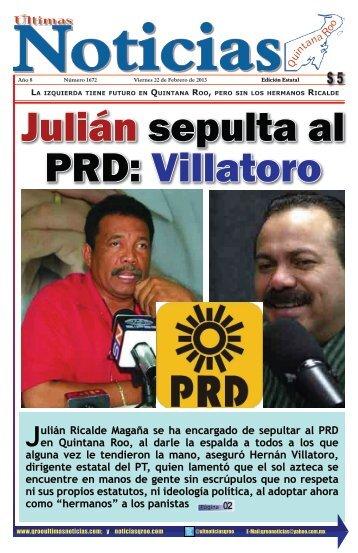 22 - Ultimas Noticias Quintana Roo