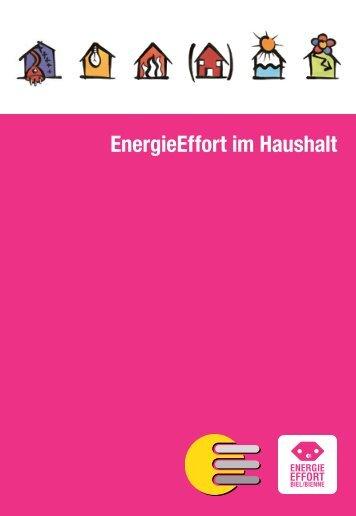 EnergieEffort im Haushalt