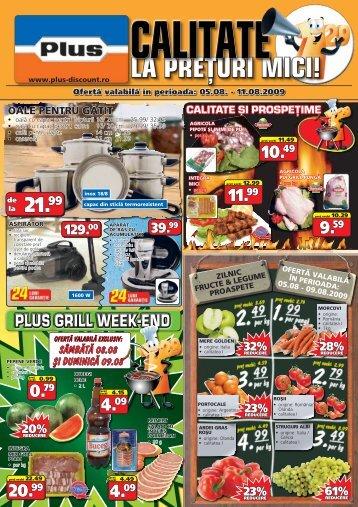 plus grill week-end - TotulRedus.ro