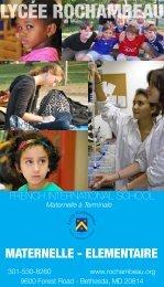 Brochure en français (PDF) - Lycée Rochambeau