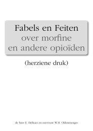 Morfine: fabels en feiten - IJsselland Ziekenhuis