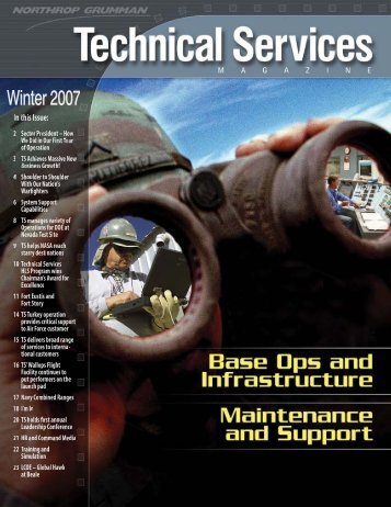 Technical Services Magazine • Winter 2007 - Northrop Grumman ...