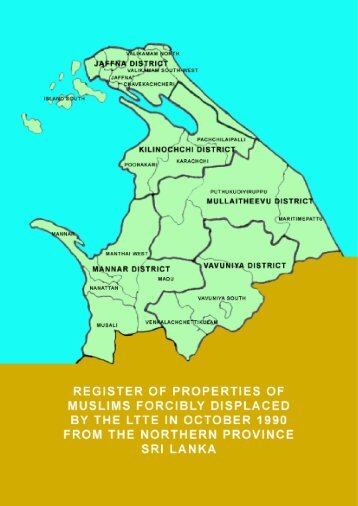 Register of Properties of Forcibly Displaced Muslims ... - Sailan Muslim