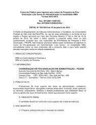Concurso Público para Ingresso aos cursos do Programa de ... - UFSJ
