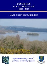 lough key local area plan 2009 - 2015 - Roscommon County Council