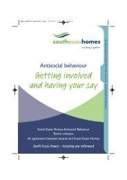 Anti-Social Behaviour Compact - South Essex Homes