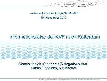 Praesentation Parlamentarische Gruppe Schifffahrt Anlass vom 26 ...