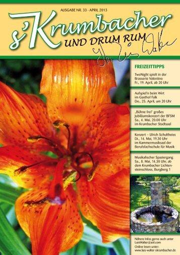 Heft 33 - Ausgabe April 2013