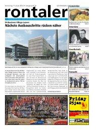 2013-03 - Regionalzeitung Rontaler AG