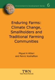 Enduring Farms: Climate Change, Smallholders and Traditional - FAO
