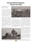 The Intercom - The Royal Montreal Regiment - Page 6