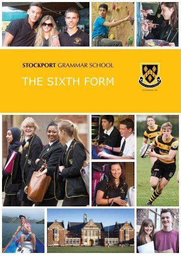 Download the prospectus (pdf) - Stockport Grammar School