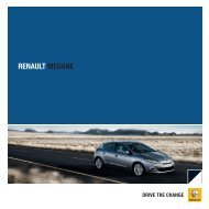 Brochurer til Megane - Renault