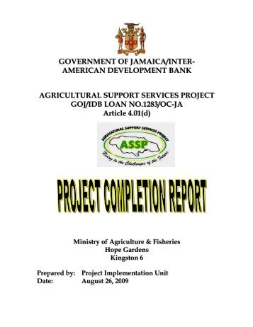 ... Project Completion Report. Advanced Technology Progr