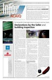 Info ACAIQ Newsletter 03-2003 - oaciq