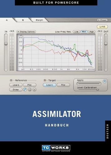 ASSIMILATOR - TC Electronic