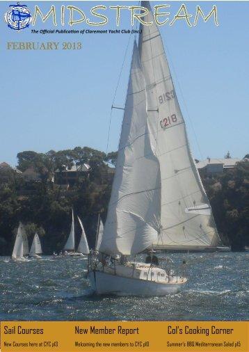 February - Claremont Yacht Club
