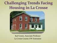 Challenging Trends Facing Housing in Lacrosse