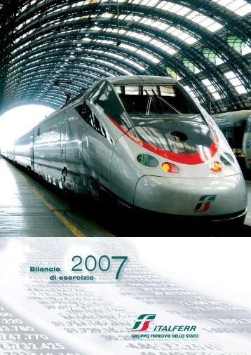 Bilancio di esercizio Bilancio di esercizio - Trenitalia