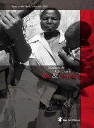 War&Conflict; - Save the Children