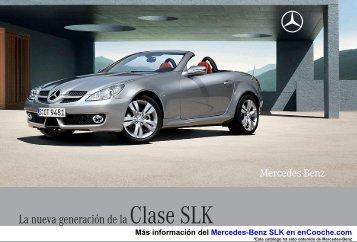 Catálogo del Mercedes-Benz SLK - enCooche.com