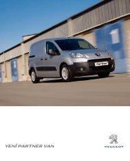 yenı partner van - Peugeot