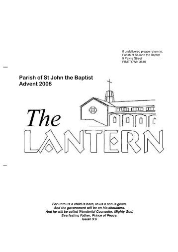 Advent - Anglican Church of St John the Baptist, in