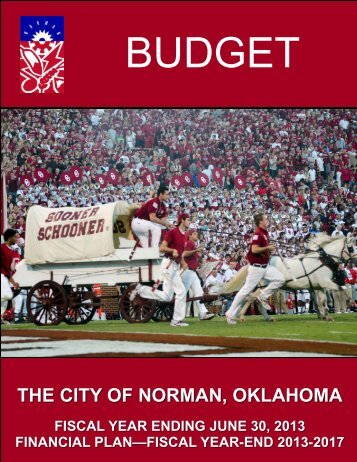 FYE 13 Budget Book (FINAL) Adopted - City of Norman