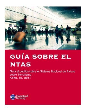 Guia Sobre El NTAS - Homeland Security