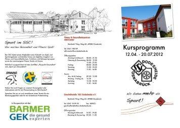 Kursprogramm - SSC Dodesheide e.V.