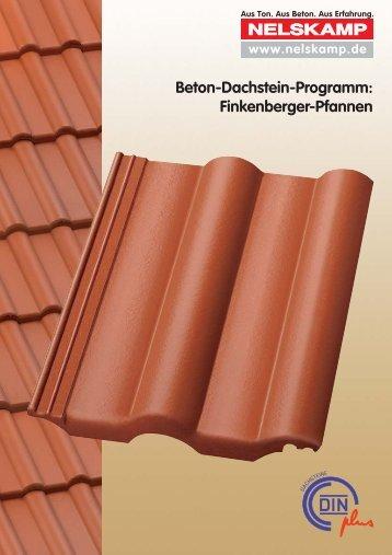 Beton-Dachstein-Programm: Finkenberger-Pfannen