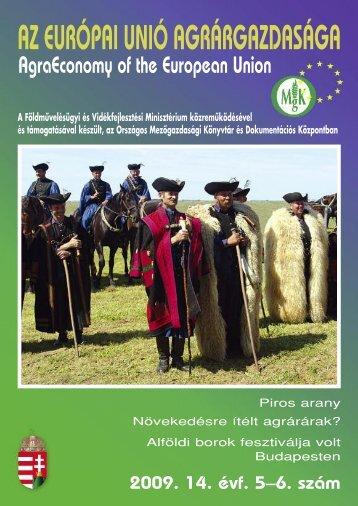 5–6. - Országos Mezőgazdasági Könyvtár