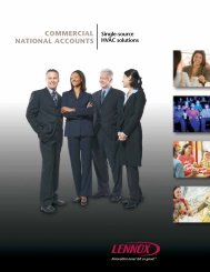 Single-Source Solutions—Commercial National Accounts - Lennox ...