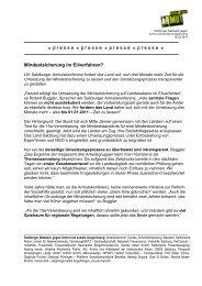 Mindestsicherung im Eilverfahren - Salzburger Armutskonferenz
