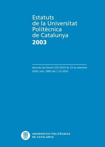 Estatus UPC 2003