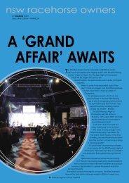 'Grand Affair' Awaits - NSW Racehorse Owners Association