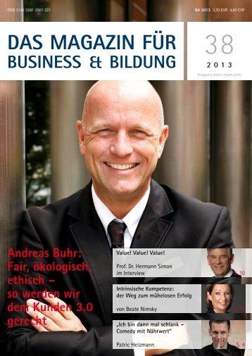 das magazin für business & bildung - nimsky