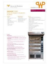 MATADOR® STORE Forno da negozio con piastra in pietra