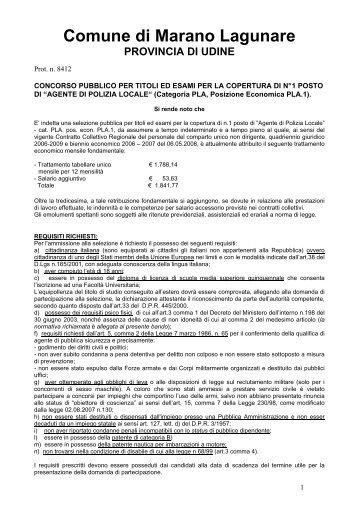 Offerte ufficio provincia di gorizia - Ufficio tavolare di gorizia ...