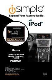 ISMZ571 Instruction Manual - PAC Audio