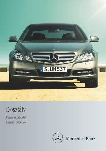 (207) kezelési útmutató letöltése (PDF) - Mercedes-Benz ...