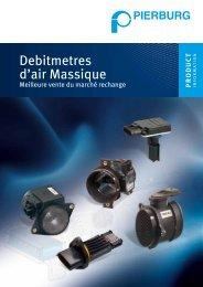 Débitmètres d'air massique - MS Motor Service France SAS