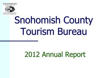 North creek drainage needs report snohomish county for Bureau report
