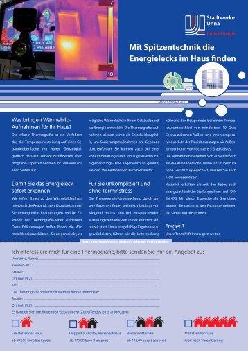 Flyer Energieausweis (593 KB) - Stadtwerke Unna